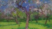 Jos Tielens: De appelboomgaard naast villa Weert