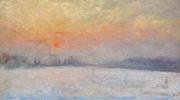Jos Tielens: Weiland, geschilderd vanuit Tielens' atelier op de hoek Voldersstraat / Herkenberg