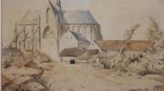 Achterzijde-basiliek-1891-collectie-gemeente-Meerssen