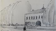 Huize-door-Vlijt-1928-getekende-dagboeken-Gemeentemuseum-Den-Haag
